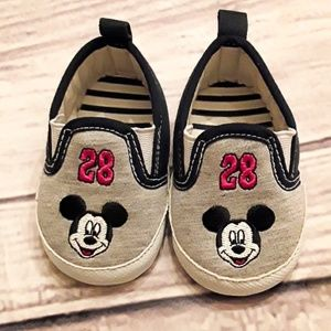 NWOT Baby Mickey Shoes